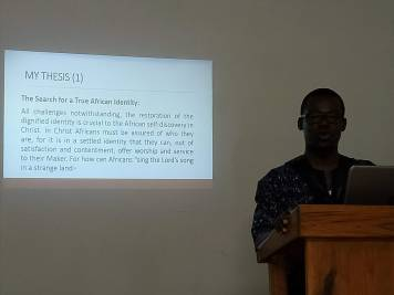 Pastor Ebenezer Hagan on how Ghanian cultural expressions (awensem and appellations) can be utilized in youth ministry