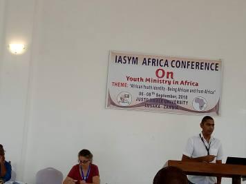 Dr. Garth Aziz's keynote on youth and spirituality