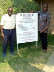 With Godfrey Walalaze at Kalimba Reptile Park